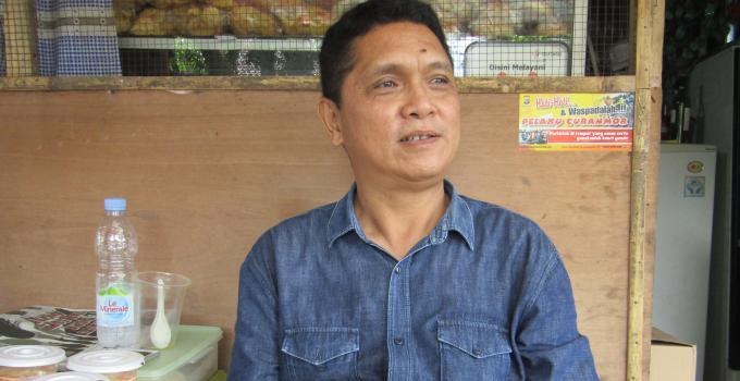 Anggota Forum LLAJ Kota Manado, Taufik Tumbelaka