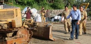 VECKY LUMENTUT Sambangi TPA Sumompo, Pemerintah Provinsi Punya Andil Besar