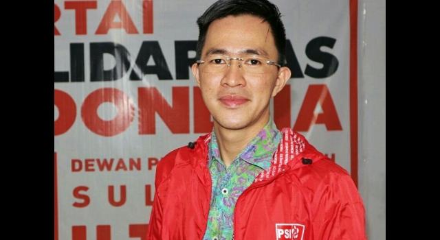 Ketua DPW PSI Sulawesi Utara, Melky Pangemanan SIP MAP