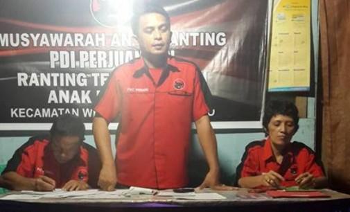 PDIP Kecamatan Wenang Gelar Musyawarah Anak Ranting