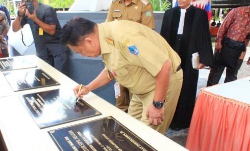 Kunjungan Kerja Gubernur Sulut Olly Dondokambey SE di Kepulauan Sangihe, Membawah Berkah
