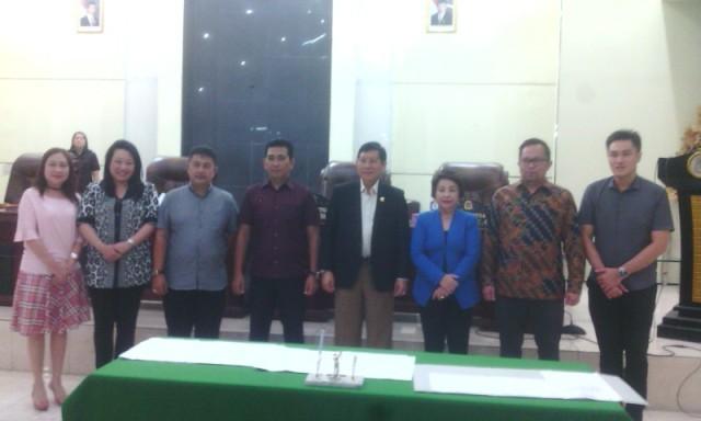 Walikota, Pimpinan DPRD dan Pimpinan Komisi.