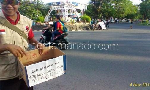 Bencana Gorontalo, Baguna dan PA Bitung Galang Bantuan