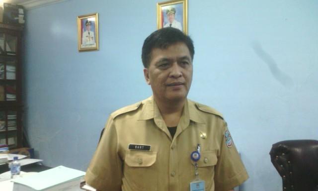 Kepala Bappeda Manado, Bart Assa.