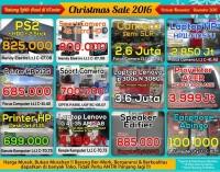 CHRISTMAS SALE itCenter Manado, Beli Laptop Gratis Printer dan Aksesorisnya