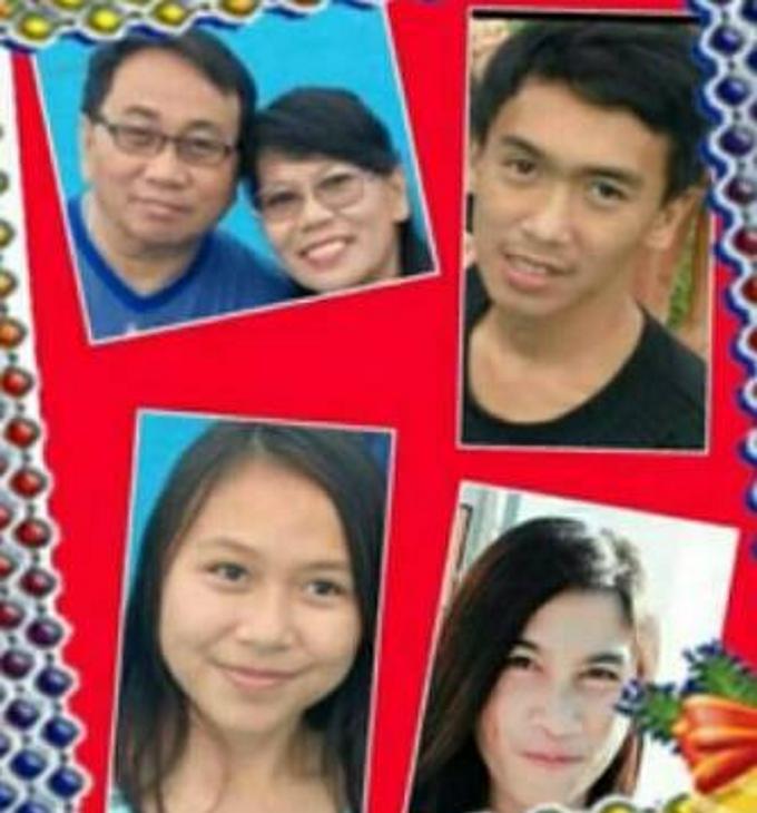 Johan Kawatu bersama keluarga