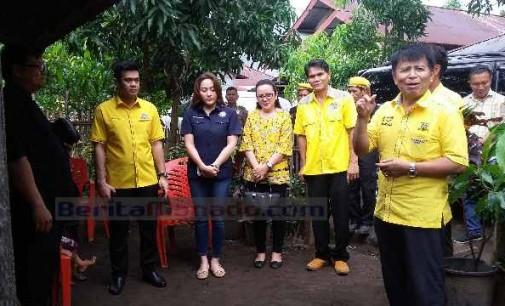 Partai Golkar Minsel, Bedah Rumah di Matani dan Suluun 2