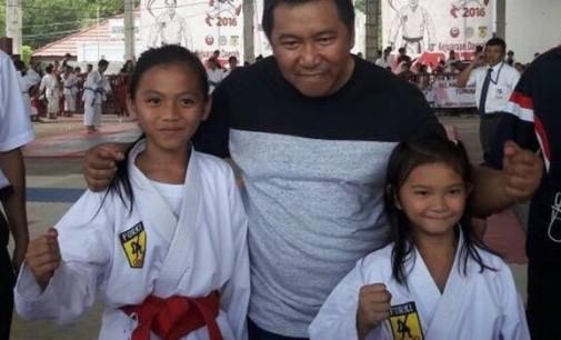 Anak Satpol PP Minahasa Jawara Kejurda Karate Bupati Mitra Cup
