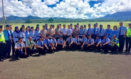 Bandara Sam Ratulangi Gandeng Brimob dalam Pelatihan Handak