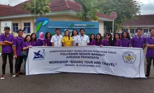 Politeknik Negeri Manado Studi Visit ke Bandara Sam Ratulangi Manado