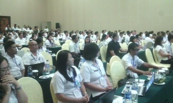 peserta sosialisasi dan launching e-Devplan.