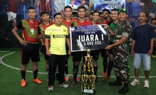 BERITA FOTO: Ini Dia Para Pemenang Turnamen Futsal Piala Walikota Dan Dandim Manado