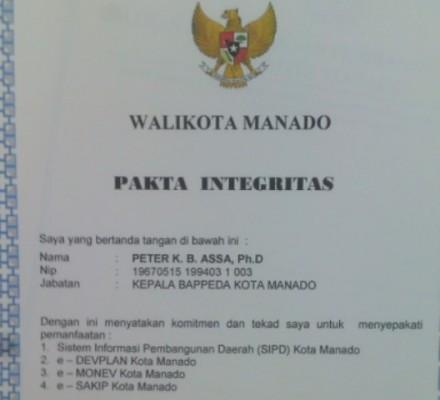 Pakta Integritas