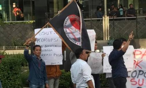 Dugaan Korupsi PLN Suluttenggo PAMI Demo di KPK