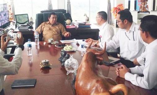Bupati JAMES SUMENDAP Berhasil Lobi Menteri ESDM Bangun Gardu Induk di Mitra