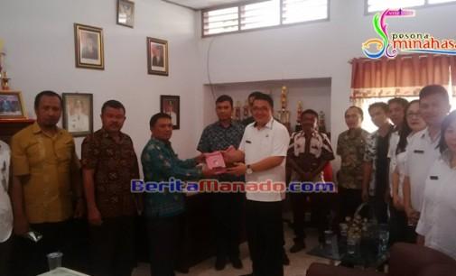 AGUSTIVO TUMUNDO Terima Kunjungan Disbudpar dan DPRD Gorontalo Utara