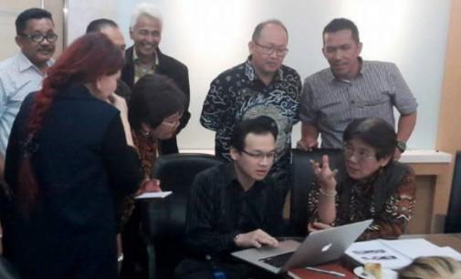 Tim Survei Salim Grup Cek Lokasi di Minut