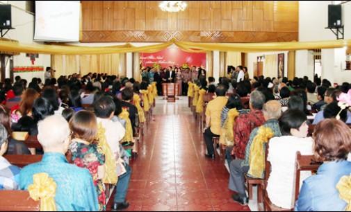 Jajaran Pemkot Tomohon Gelar Ibadah Tahun Baru