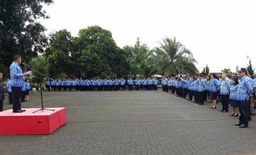 Kepala SKPD Se-Minahasa Tandatangani Pakta Integritas
