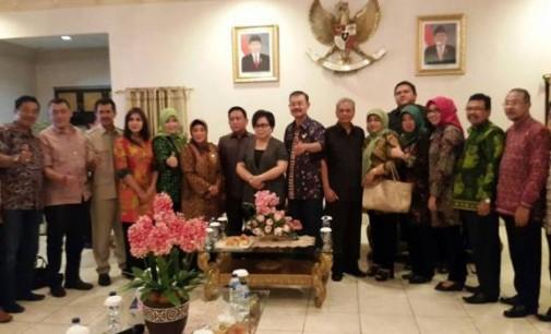 Meiva Lintang dan Juddy Moniaga Terima Kunjungan BanMus DPRD Jateng