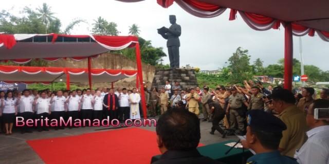 Pejabat eselon dua Pemprov Sulut dilantik di tuga Soekarno, Minut