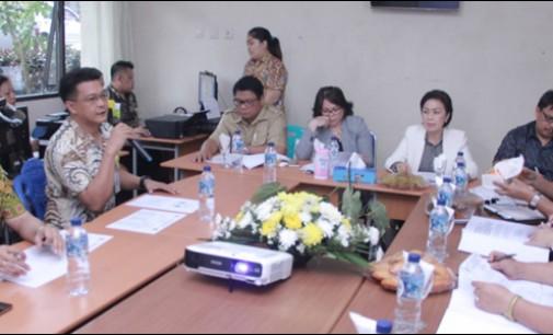 Kunjungan Lapangan, Komisi II Sambangi Kominfo Tomohon