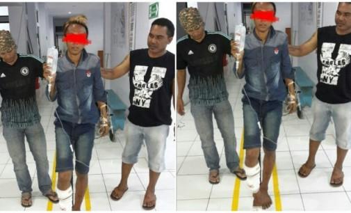Residivis Pencuri Accu Roboh Diterjang Timah Panas