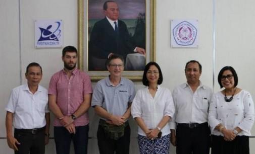 BERITA FOTO: Rektor Unsrat Terima Kunjungan Delegasi Australia