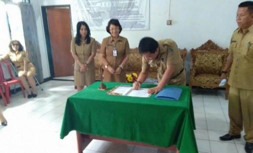 Jabat Plt Sekretaris DPRD, OLGA MAKARAW Minta Dukungan Semua Pihak