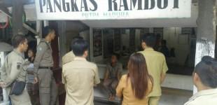 "Baru Terbentuk, DPKP Bitung ""Ancam"" Bongkar Delapan Bangunan di Wangurer"