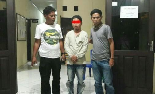 Dilaporkan Bawa Lari Anak Gadis, Pria Beristri Digelandang Polsek Aertembaga
