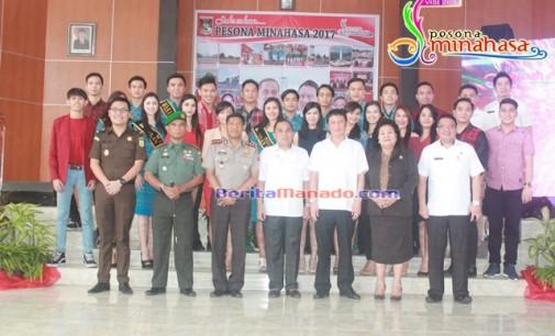 JANTJE SAJOW Canangkan Visit Pesona Minahasa 2017