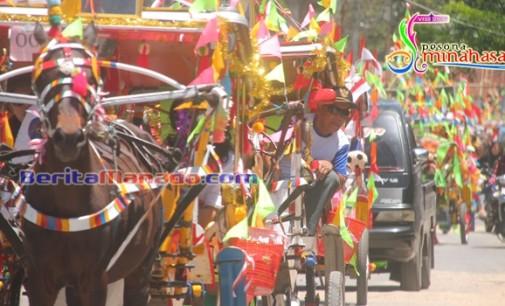 Disbudpar Minahasa Siap Gelar Karnaval Bendi Hias