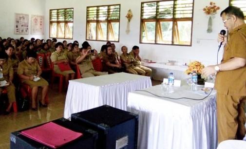 Kepala BKPSDM Mitra Diingatkan ASN Soal Lima C