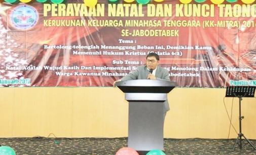 Ini Harapan Bupati JAMES SUMENDAP Untuk Warga Mitra di Jabodetabek