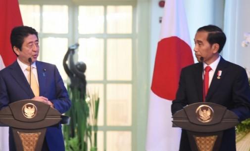 JOKO WIDODO Bertemu Shinzo Abe di Istana Bogor, Indonesia dan Jepang Hasilkan Sejumlah Kesepakatan Ini