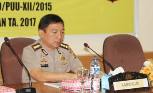 Bidkum Polda Sulut Sosialisasikan Peraturan Kapolri Nomor 2 Tahun 2016