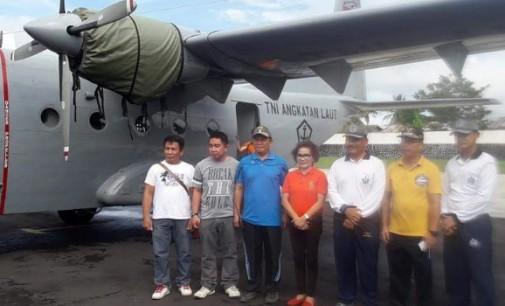 Lanudal Manado dan Warga Talawaan Gotong Royong Bersihkan Lingkungan