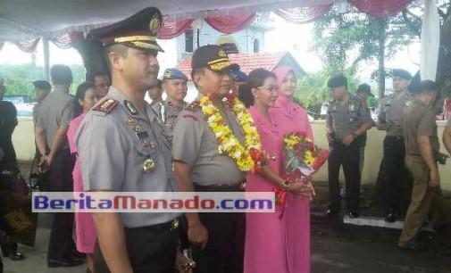 Kapolda BAMBANG WASKITO Kunjungi Polres Minsel, Jalan Trans Sulawesi Disterilkan