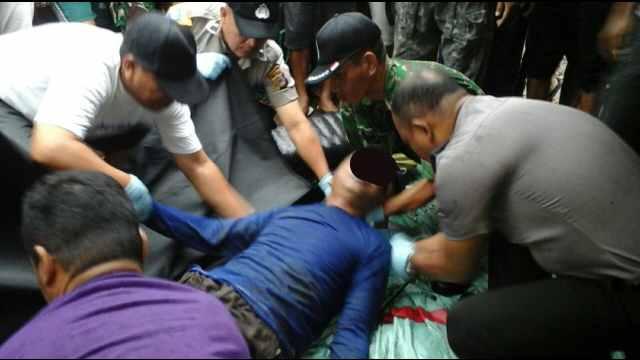 Mayat di Desa Matani Satu, Kecamatan Tumpaan, Minsel