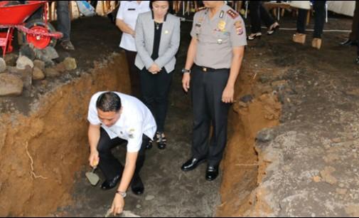 Anggaran 35 M, Walikota Letakkan Batu Pertama RS Pratama Tomohon