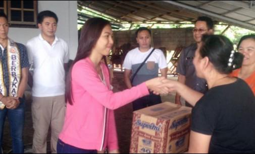 Wakil Walikota Tomohon Bantu Korban Banjir di Kelurahan Walian II