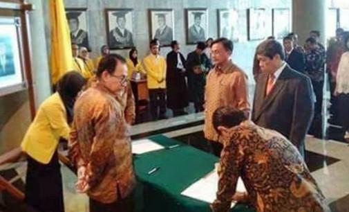 Wow, Keren !!! REKTOR Universitas Indonesia Lantik BENNY JOZUA MAMOTO
