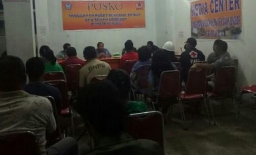 Pimpin Rapat Evaluasi Penangan Bencana, Ini yang Disampaikan Walikota Bitung