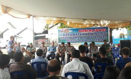 Pasca Tarkam, Kecamatan Tuminting Bergegas Amankan Wilayah