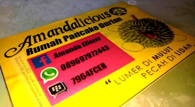 Nomor kontak pancake durian Amandalicious
