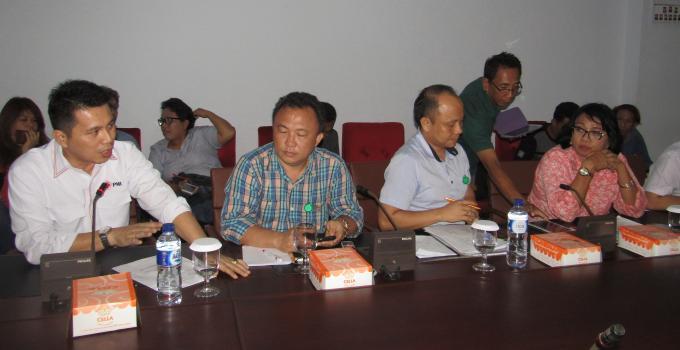 dr Enrico Rawung rapat bersama Komisi 4 DPRD Sulut