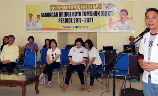 Lasut Lantik Pengurus GBKT Periode 2017-2021
