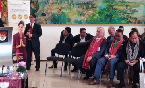 Jimmy Eman Presentasikan Potensi Wisata Tomohon di Belanda