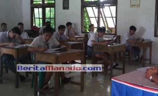 Astaga !!! 6 Siswa SMU Minsel Tidak Ikut UN, Kepala Cabang Dinas Propinsi Cuek
